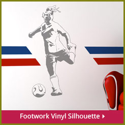 Footwork Vinyl Silhouette