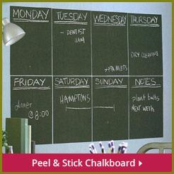 Peel & Stick Chalkboardl