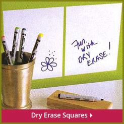 Dry Erase Squares