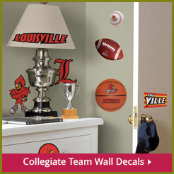 Collegiate Team Wall Decals