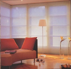 Graber Even Pleated Lined Light Filtering Shades