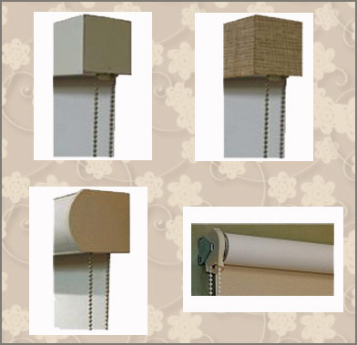 There are many types of valances available for solar shades.